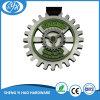Medalla de plata antigua hueca a medida Medalla de esmalte suave