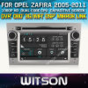 Opel Zafira (W2-D8828L)のためのWitson Car Radio DVD