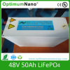 48V50ah alta LiFePO4 / Lithium Battery Pack de Telecomunicaciones Aplicación