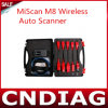 Neues Automotive Diagnostic Tool Miscan M8 Wireless Auto Scanner für Toyota Honda Mitsubishi Dropshipping