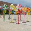 Grande decorazione del lecca lecca del Lollipop della vetroresina