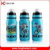 Пластиковый спорта бутылка воды, пластиковые бутылки спорта, 600 мл спорта бутылка воды (KL-6625)