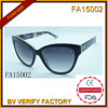 Frame material do acetato com os óculos de sol Polaroid da lente (FA15002)