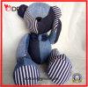 Urso enchido calças de brim da peluche do luxuoso com braços e pés móveis