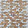 Mosaico de cristal del color de la mezcla anaranjada del metal (CFA46)