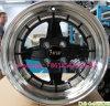 A roda de carro 15*8j 15*9inch orlara a roda 4*100/114.3 da liga de alumínio