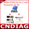 Icom A2+B+C für BMW mit Panasonic-CF 30 Full Set mit 2015.03 Software