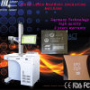 machine de marquage au laser à fibre 30W Marque pour le métal/Nometal