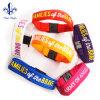 El suministro directo de fábrica textil pulseras estrechas para la promoción de regalos