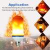 Efecto de llama LED Bombilla LED E27 llama vacilante atmósfera lámpara Lámpara de iluminación
