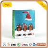 クリスマスのフクロウの紙袋、Hohohoのギフトの紙袋