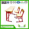 의자 (SF-21D)를 가진 학생 가구 학생 두 배 책상