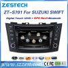 Reproductor de DVD video audio del coche para Suzuki GPS rápido con Bluetooth