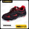 De lage Schoenen van de Bedrijfsveiligheid van de Schoenen Outsole van de Besnoeiing PU+Rubber (SN5666)