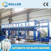 Koller Dk200 Eis-Block-Maschinen-automatische esteuerte Zeit sparende schnelle Arbeitsspeiseeiszubereitung für Eis-Fabrik