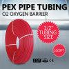 pies Pex del aislante de tubo del 1/2 el  1000FT de barrera del oxígeno