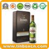 Tin van de Opslag van de Wisky van de Doos van de Fles van de Wijn van het metaal het Verpakkende Rechthoekige