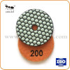 돌 3  /80mm를 위한 건조한 다이아몬드 지면 닦는 패드 거친 격판덮개 기계설비 공구