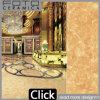 Azulejo de suelo de mármol de oro de la venta caliente