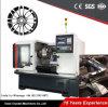 El cubo de rueda Torno CNC de corte de la reparación de la rueda de coche Precio torno