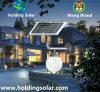 Todos en un ahorro de la energía solar del LED con el sensor de microonda