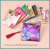 Tasselsの中国のStyle Small Satin Package Pouch