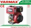 Moteur diesel marin simple refroidi par air Ym186fa du cylindre 418cc 5.7/6.3kw 7.8/8.6HP de début de main de Yarmax