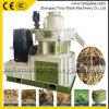 Pelota da biomassa que faz a máquina para a madeira, palha, grama, amendoim Shell