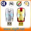 OEM al por mayor Iron Man USB 2.0 Memoria Stick1GB ~ 64 GB USB Flash Drive