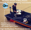 Moteurs de pêche à la traîne extérieurs électriques sans frottoir pour la pêche d'attrait du monde