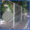 電流を通されたダイヤモンドの網かチェーン・リンクの塀