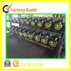 Azulejos de suelo de goma antirresbaladizos a prueba de choques durables para el centro de aptitud de la gimnasia