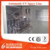 Vacuometalización de metalización ULTRAVIOLETA de los casquillos plásticos Machine/UV que cura la línea