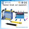 또는 DTH Hammer Parts Removal를 위한 Dismantling Tool 분해하십시오