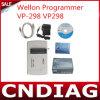 2014 el Wellon original más nuevo Vp298 Vp-298 Programer universal, programa de escritura de destello del programador de Eeprom MCU, soporte 10000+ IC - envío libre