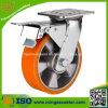 Total Brake Heavy Duty Trolley 8 Caster Wheels