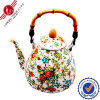 Enamel hermoso Kettle con Bakelite Handle