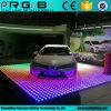 党結婚式レンタルビジネス1m*1m RGB効果多彩なLEDのダンス・フロア