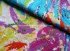 綿かSpandex Stretch Satin DIGITAL Print Fabric