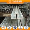 Profil 6063 T5 en aluminium pour le guichet et la porte