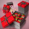 Rectángulo de regalo de la cartulina