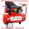 Tracteur de pneus voiture Mini de l'huile de pompe à air du compresseur d'air entraîné directe