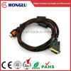 DVIケーブルへの二重磁気HDMI