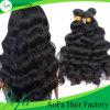 Cabelo humano brasileiro original do cabelo não processado do Virgin da onda do corpo