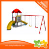 Los niños Swing y deslice los juguetes de exterior de plástico de equipos de juego