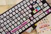 Etiqueta engomada del teclado del PVC de la impresión de encargo varia