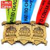 Comercio al por mayor de metal personalizados baratos Deporte Medalla clave fundido