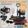 Vevor nuovi 8 in 1 macchina della pressa di calore sulla vendita