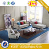 Italia clásica de madera de diseño de mobiliario de oficina oficina de cuero sofá (HX-SN8050)