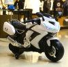 Езда 3 колес электрическая на пластичных мотовелосипедах полиций игрушки для малышей